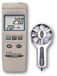 YK-80AM /  Professional Heavy-Duty Thermo-Anemometer