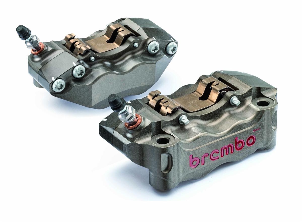 Brembo Hard Anodized caliper