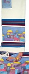 Yair Emanuel Jerusalem Design Tallit Set Multicolor