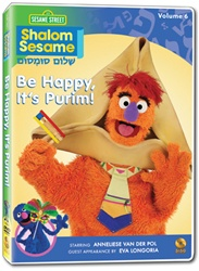 Shalom Sesame New Series Vol. 6: Be Happy, It's Purim!