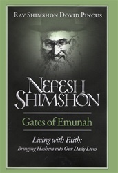 Nefesh Shimshon: Living With Faith