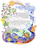 Wind Song Ketubah by Amy Fagin