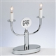 Electric Candlesticks - Chrome 2 Light