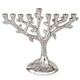 Aluminum Tree of Life Menorah
