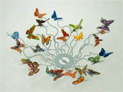 Butterflies Forever Bowl by David Gerstein