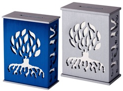 Tzedakah Box - Tree of Life by Avia Agayof
