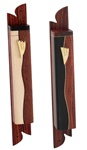 Hardwood Mezuzah Case by Ed Cohen