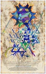 WRITTEN IN THE STARS Ketubah by Nava Shoham