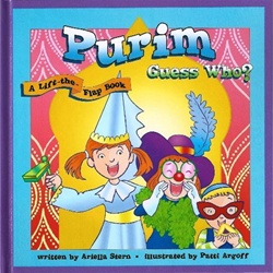 Purim Guess Who? - A Lift-the-Flap-Book