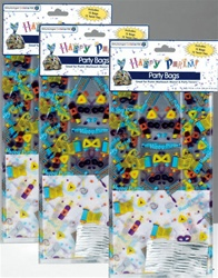 Happy Purim Party Bags - 36 ct.