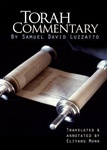 Shadal: Torah Commentary by Samuel David Luzzatto (4 vols.)