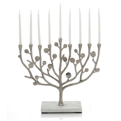 Botanical Leaf Menorah by Michael Aram