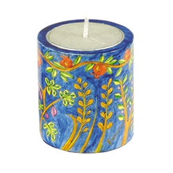 Oriental Memorial Candle Holder by Emanuel