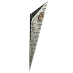 Small Full Pattern Prayer Mezuzah by Joy Stember