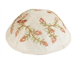 Embroidered Pomegranate Kippah