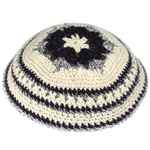 Women's Knit Kippah - Blue