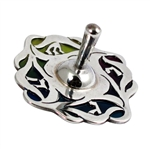 Sterling Silver Dreidel by Nadav