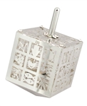 Seven Species Cube Dreidel by Anat Mayer