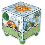 Cars Tzedakah Box