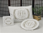 Passover Set- Pillow Cover, Matzah Cover, Afikoman Bag