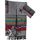 Gabrieli Grey with Wide Stripes Silk Tallit Set
