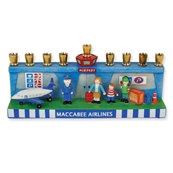 Airport Menorah