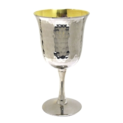 Hammered Kiddush Cup