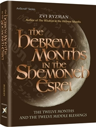 The Hebrew Months in the Shemoneh Esrei: The twelve months and the twelve middle blessings