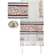 Embroidered Matriarch Tallit - Multicolor