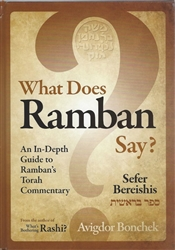 What Does Ramban Say? Sefer Bereishis