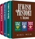 Jewish History: A Trilogy - Echoes of Glory, Herald of Destiny, and Triumph of Survival