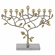 Hammered Pomegranate Menorah by Emanuel