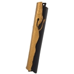 Gold & Black Mezuzah