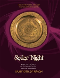 Seder Night Kinor David - Halacha MiMekorah - by Rav Yosef Tzvi Rimon