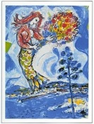 Limited Edition Lithograph - La Sirene Au Pin