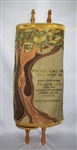 Magnificent custom made Torah cover