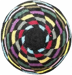 Colorful Shapes Kippah
