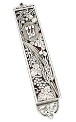Luvaton Seven Species Mezuzah