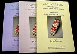 Marvin Fox: Collected Essays on Philosophy and on Judaism