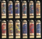 Limited Edition Set of 12 Chagall Mezuzot