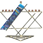 Star Menorah by Gary Rosenthal
