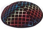Bulk Suede Foil Embossed Kippot (RB69) - With Custom Imprinting