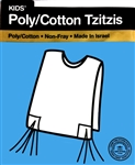 Children's Cotton/Poly Tzitzit