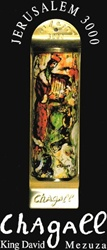 King David Mezuzah by Chagall