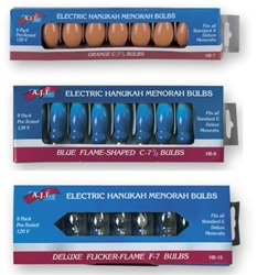Electric Menorah Light Bulbs