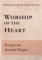Worship of the Heart: Essays on Jewish Prayer