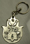 Pewter Chamsa Key Chain
