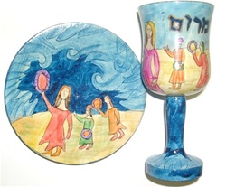 Miriam Cup & Plate