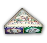 Triangle Purim Box - Medium