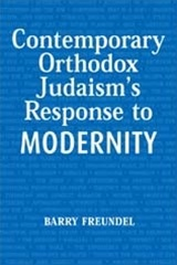 Contemporary Orthodox Judaism's Response to Modernity